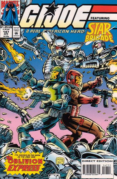 Cover for G.I. Joe, A Real American Hero (Marvel, 1982 series) #147 [Direct Edition]