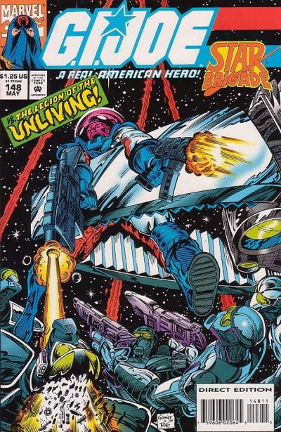 Cover for G.I. Joe, A Real American Hero (Marvel, 1982 series) #148 [Direct Edition]