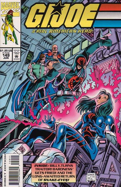Cover for G.I. Joe, A Real American Hero (Marvel, 1982 series) #149 [Direct Edition]