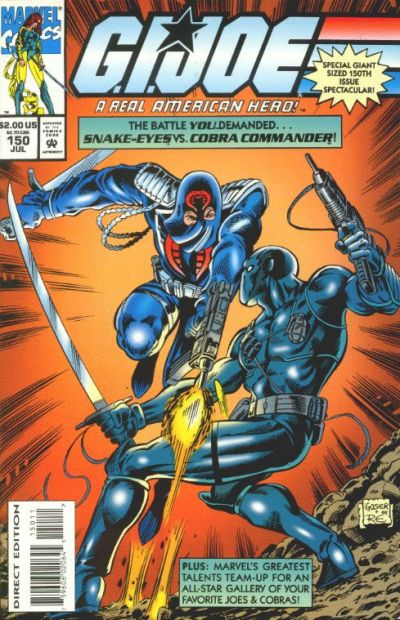 Cover for G.I. Joe, A Real American Hero (Marvel, 1982 series) #150 [Direct Edition]