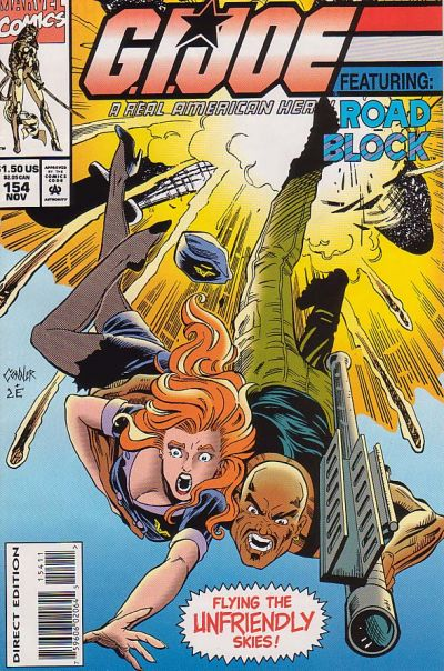 Cover for G.I. Joe, A Real American Hero (Marvel, 1982 series) #154 [Direct Edition]