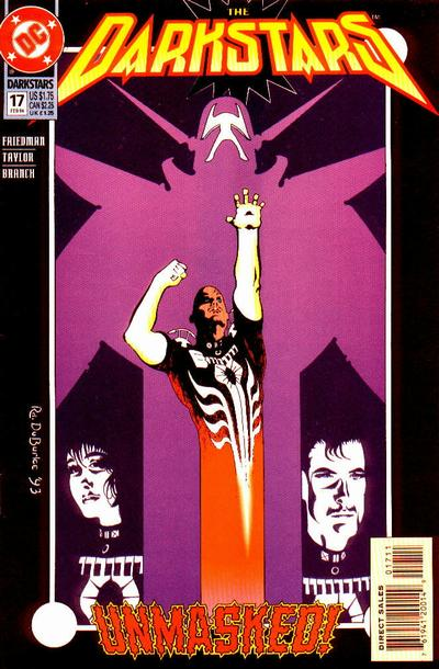Cover for The Darkstars (DC, 1992 series) #17