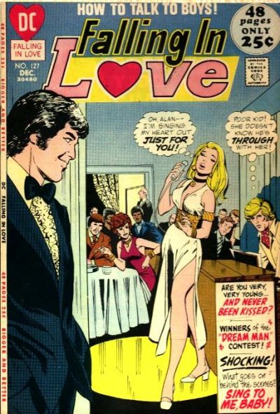 Cover for Falling in Love (DC, 1955 series) #127