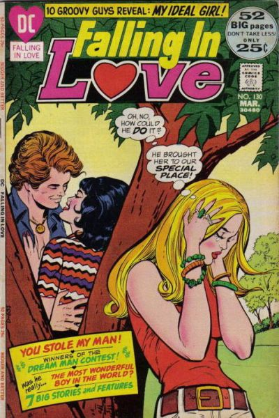 Cover for Falling in Love (DC, 1955 series) #130
