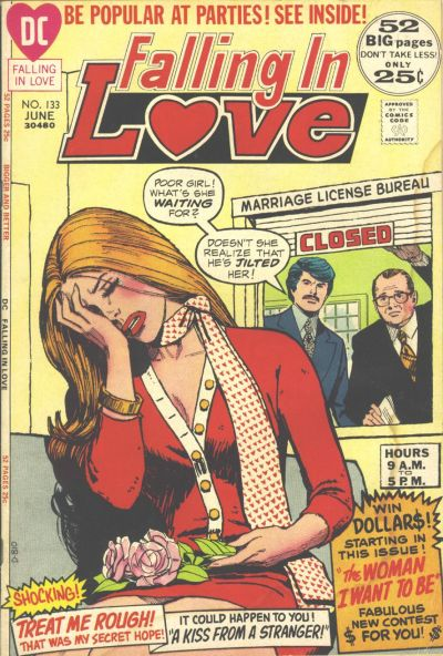 Cover for Falling in Love (DC, 1955 series) #133