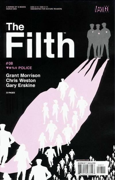 Cover for The Filth (DC, 2002 series) #8