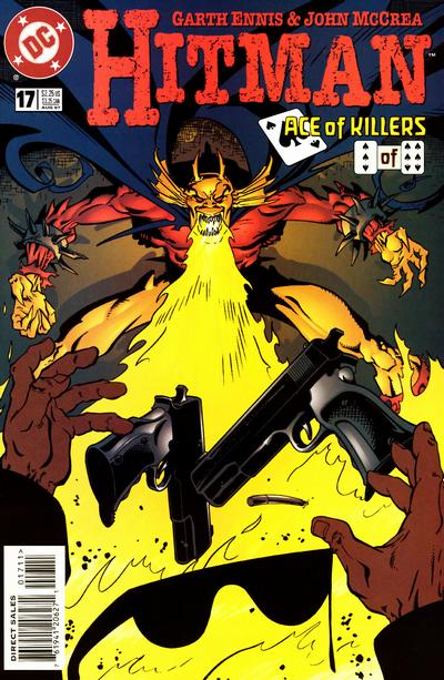 Cover for Hitman (DC, 1996 series) #17