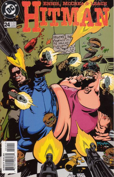 Cover for Hitman (DC, 1996 series) #24