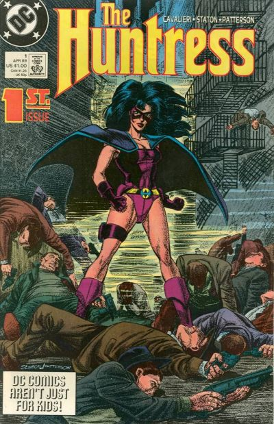 Cover for The Huntress (DC, 1989 series) #1 [Direct]