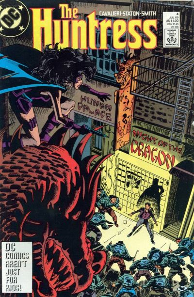 Cover for The Huntress (DC, 1989 series) #4