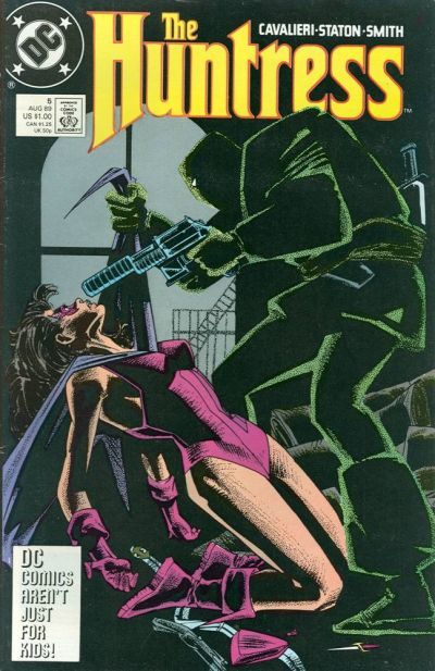 Cover for The Huntress (DC, 1989 series) #5
