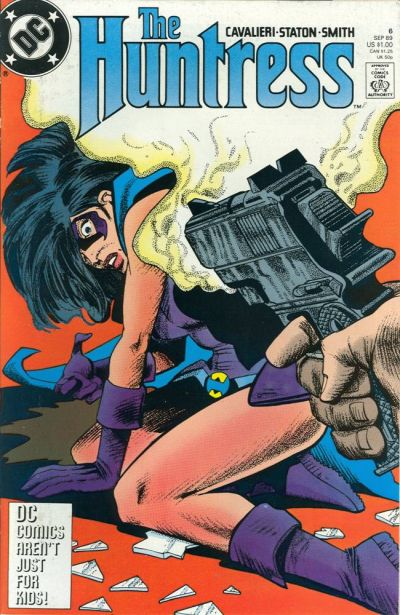 Cover for The Huntress (DC, 1989 series) #6