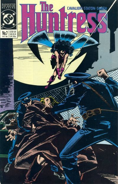 Cover for The Huntress (DC, 1989 series) #7