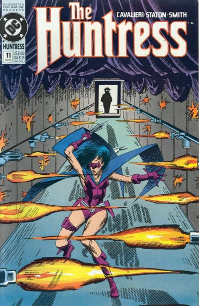 Cover for The Huntress (DC, 1989 series) #11