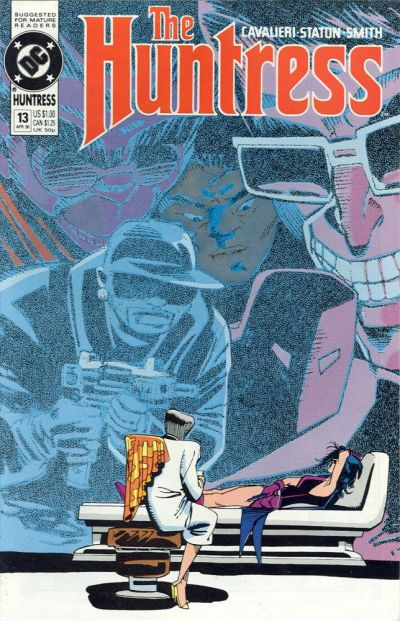 Cover for The Huntress (DC, 1989 series) #13
