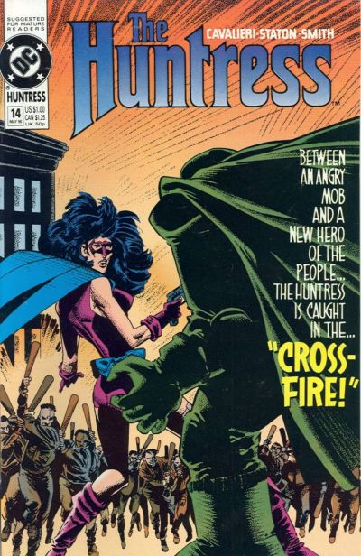Cover for The Huntress (DC, 1989 series) #14