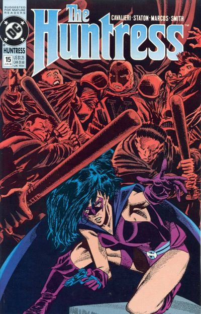 Cover for The Huntress (DC, 1989 series) #15
