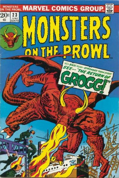 Cover for Monsters on the Prowl (Marvel, 1971 series) #23