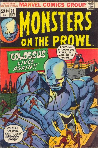 Cover for Monsters on the Prowl (Marvel, 1971 series) #25