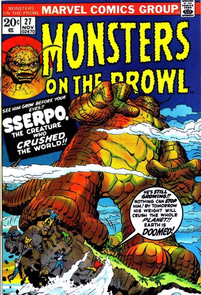 Cover for Monsters on the Prowl (Marvel, 1971 series) #27