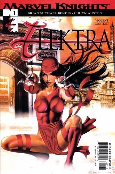 Cover for Elektra (Marvel, 2001 series) #1