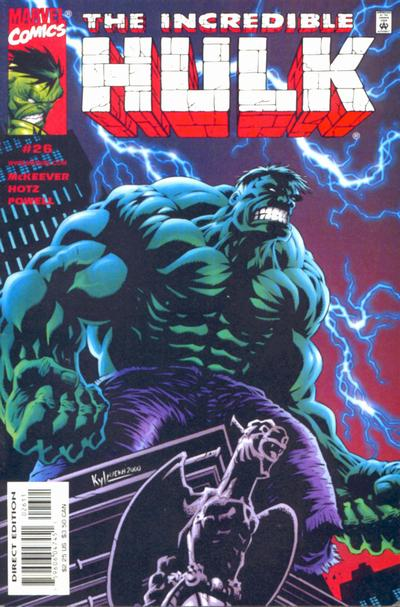 Cover for Incredible Hulk (Marvel, 2000 series) #26