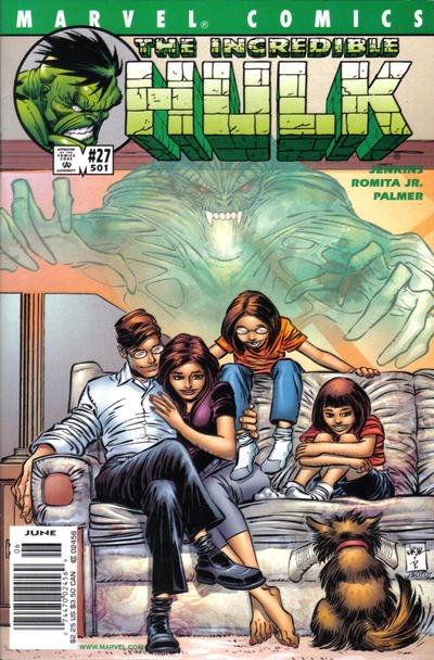 Cover for Incredible Hulk (Marvel, 2000 series) #27 (501)