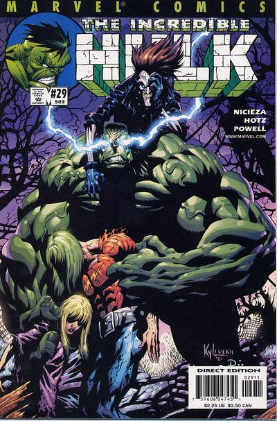 Cover for Incredible Hulk (Marvel, 2000 series) #29 (503)