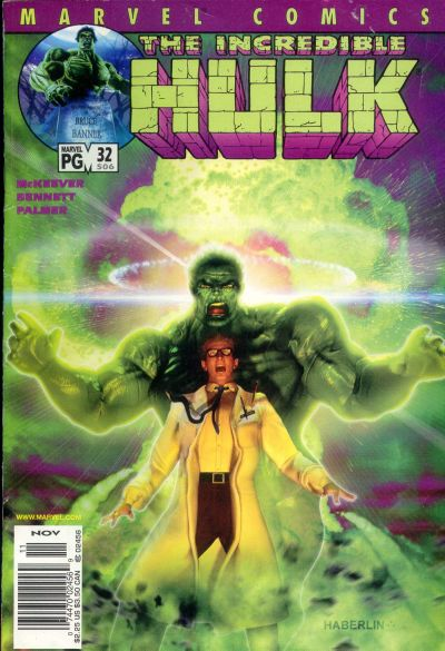 Cover for Incredible Hulk (Marvel, 2000 series) #32 (506) [Direct Edition]