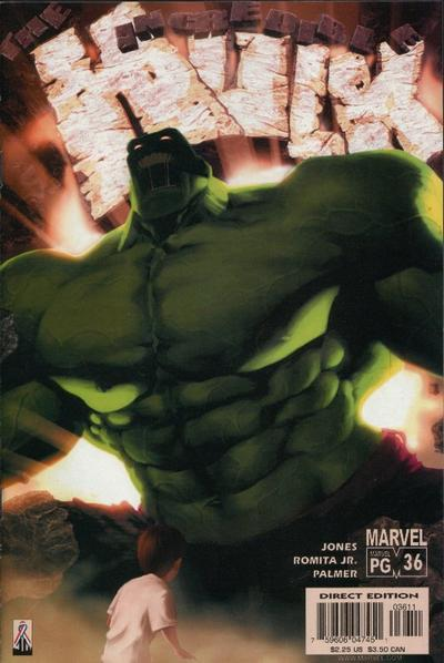 Cover for Incredible Hulk (Marvel, 2000 series) #36