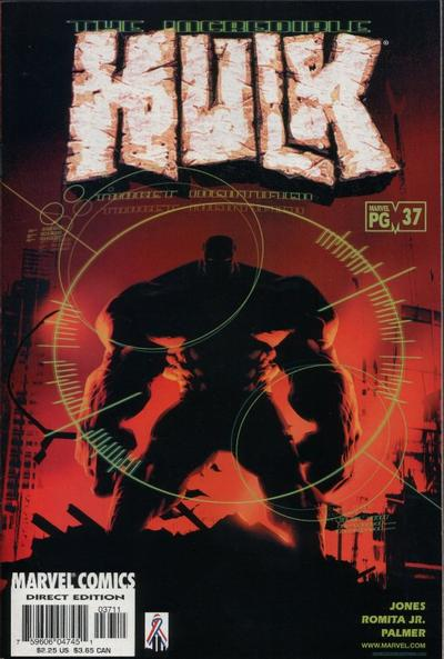Cover for Incredible Hulk (Marvel, 2000 series) #37