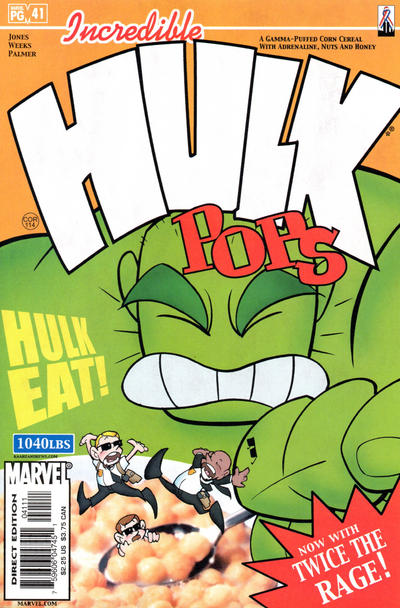 Cover for Incredible Hulk (Marvel, 2000 series) #41