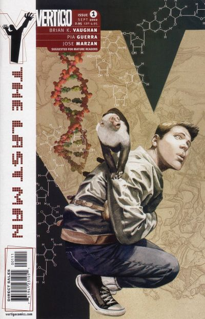 Cover for Y: The Last Man (DC, 2002 series) #1
