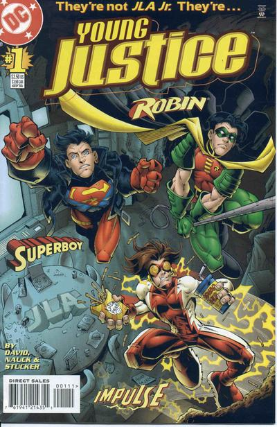 Cover for Young Justice (DC, 1998 series) #1