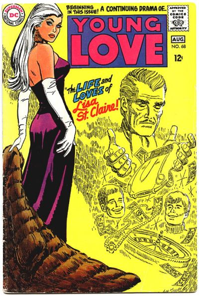 Cover for Young Love (DC, 1963 series) #68