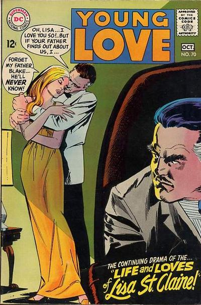 Cover for Young Love (DC, 1963 series) #70
