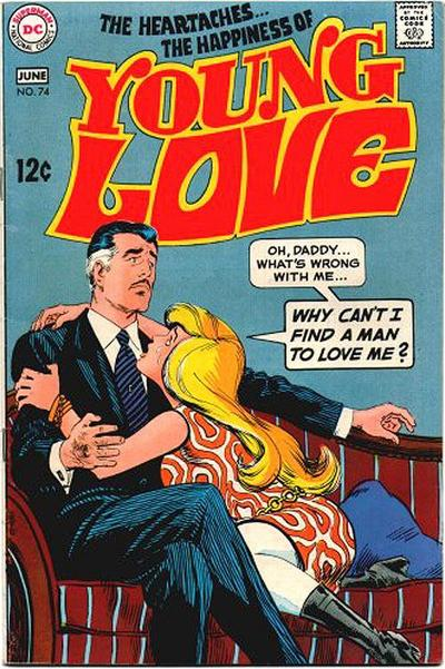 Cover for Young Love (DC, 1963 series) #74