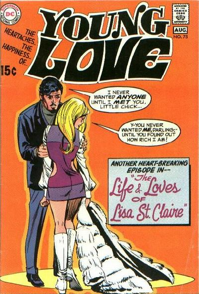 Cover for Young Love (DC, 1963 series) #75