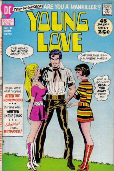 Cover for Young Love (DC, 1963 series) #89