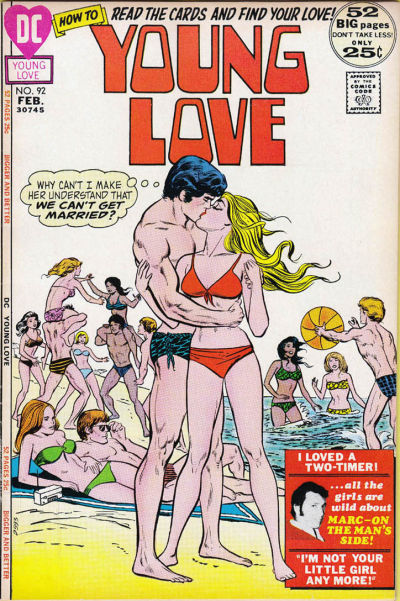 Cover for Young Love (DC, 1963 series) #92