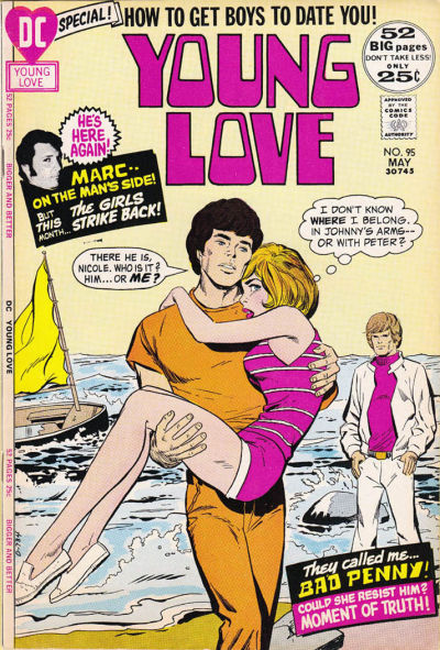 Cover for Young Love (DC, 1963 series) #95