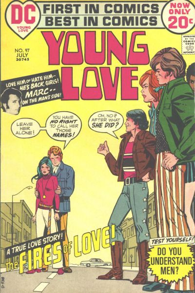 Cover for Young Love (DC, 1963 series) #97