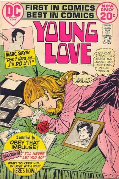 Cover for Young Love (DC, 1963 series) #98