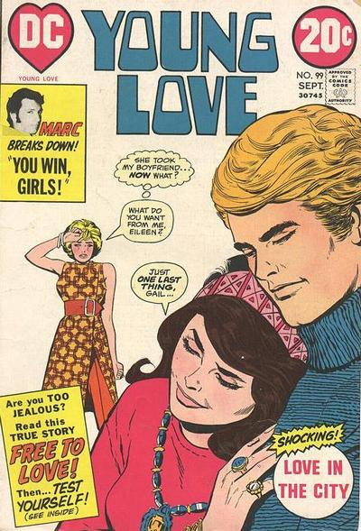 Cover for Young Love (DC, 1963 series) #99