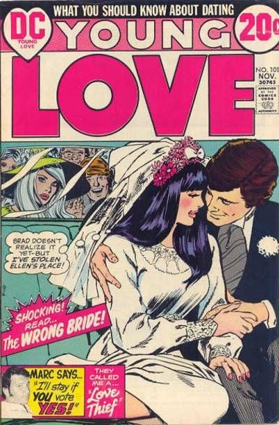Cover for Young Love (DC, 1963 series) #101