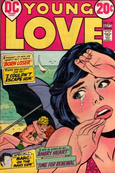 Cover for Young Love (DC, 1963 series) #105