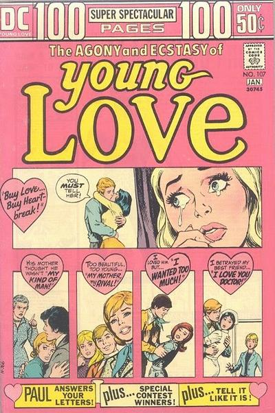 Cover for Young Love (DC, 1963 series) #107