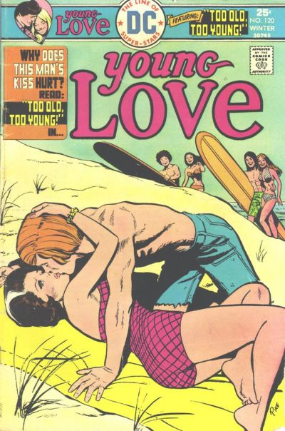 Cover for Young Love (DC, 1963 series) #120