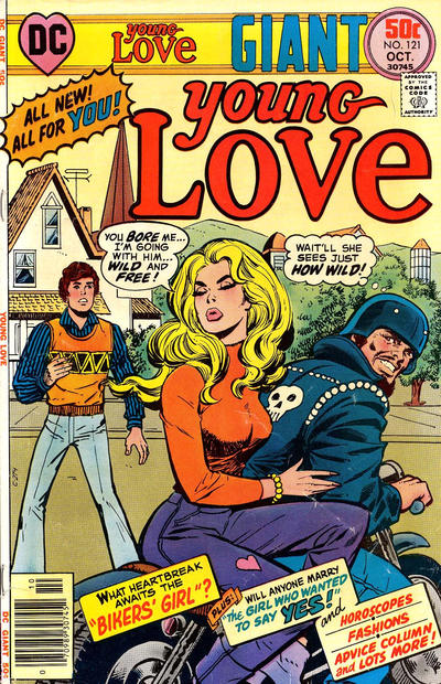 Cover for Young Love (DC, 1963 series) #121