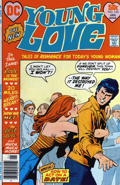 Cover for Young Love (DC, 1963 series) #123